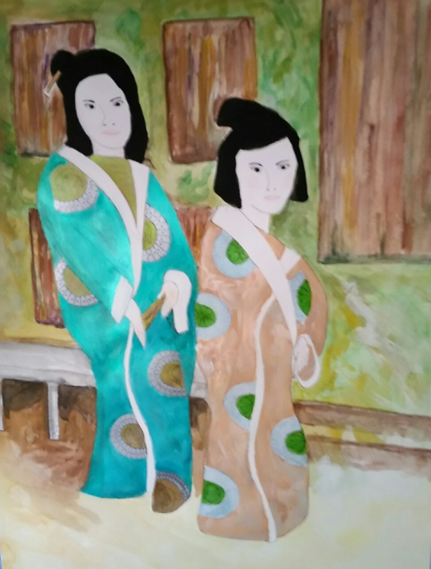 Sisters painting